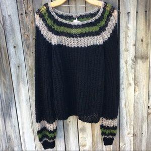 NWT Free People Reach For Stars Alpaca Sweater S